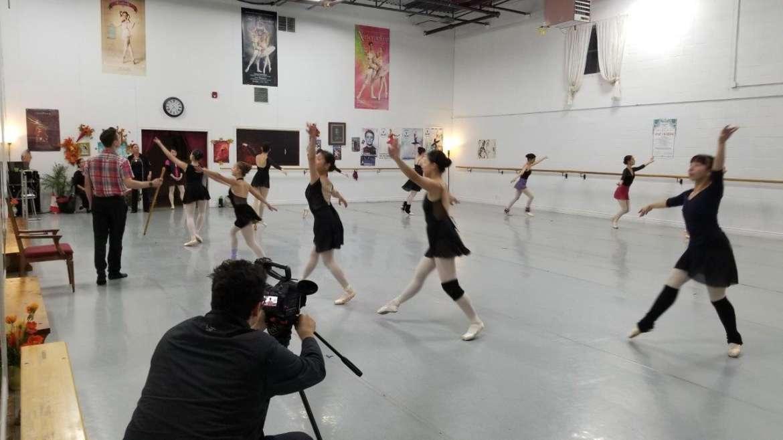 Съемки в Victoria Ballet Academy